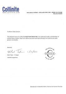 collinite_certificate
