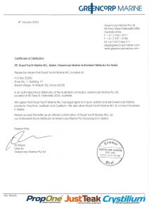 greencorp-marine-distributor-certificate