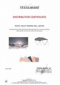 tessilmare-distributor-certificate