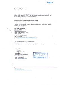 skf-distributor-certificate
